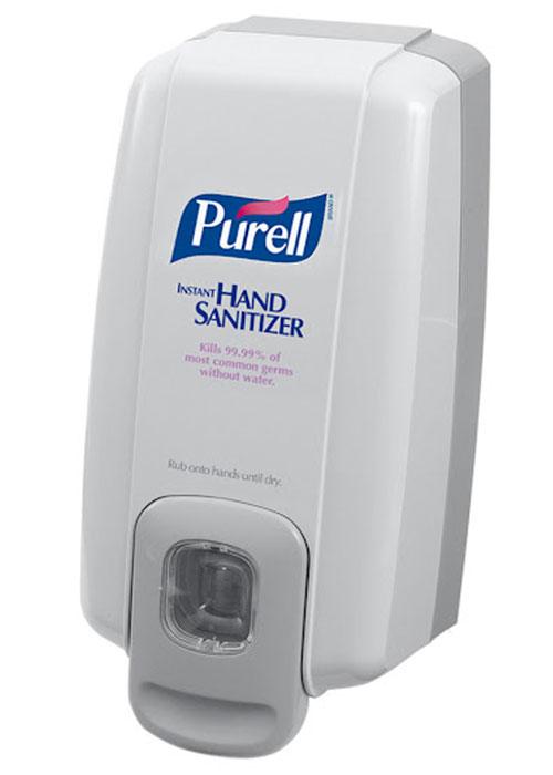 dispensador antibacterial purell