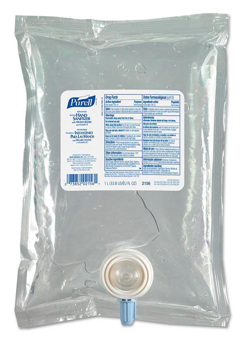 recarga antibacterial purell